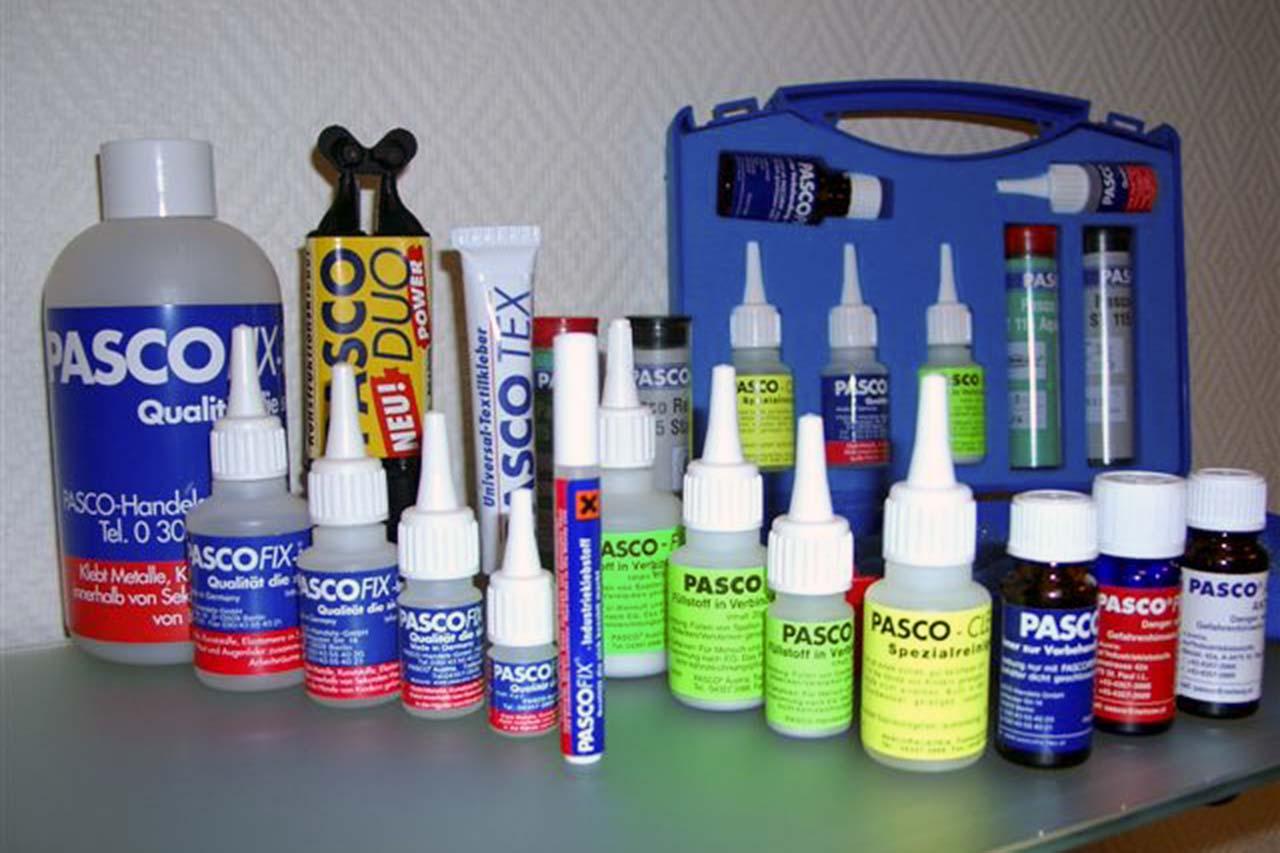 Pasco d.o.o. je generalni uvoznik i distributer nemačkih lepkova Pasco
